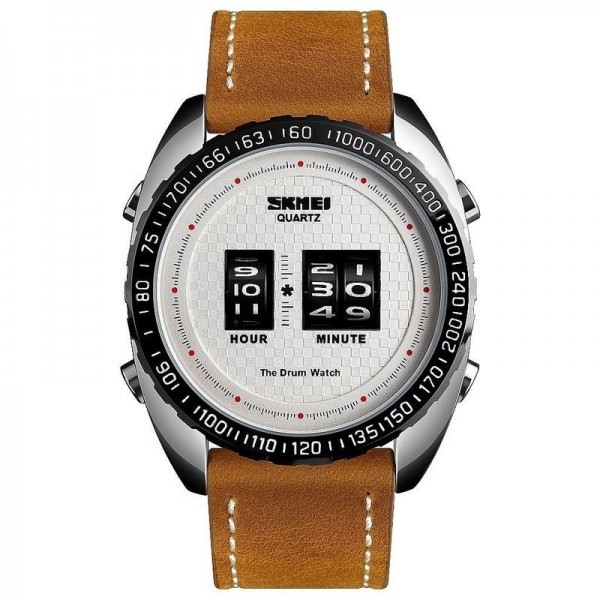 SKMEI Drum Roller Watch 1516 SIWTLTBN