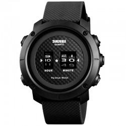 Rokas pulkstenis SKMEI Drum Roller Watch 1486 PBK Black/Black