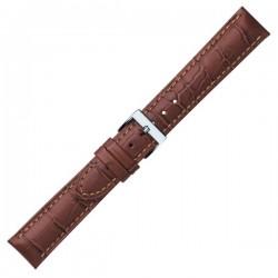 Watch Strap CONDOR Croco Grain Extra Long 614L.02.22..W