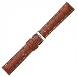 Watch Strap CONDOR Croco Grain Extra Long 614L.03.24.W