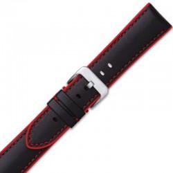 Watch Strap CONDOR Silicone Lined Calf 345R.01.20.W