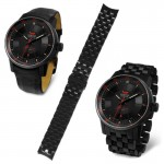 Vostok-Europe Gaz-14 Watch bracelet VE-GAZ14-BR-BK-23