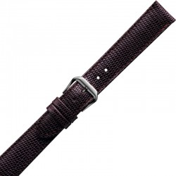 Watch Strap CONDOR Semi Padded Lizard Grain Extra Long 065L.02.20.W