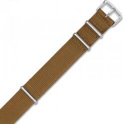 Watch Strap Woven miltary strap 111G.KHAKI.24