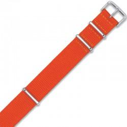 Watch Strap Woven miltary strap 111G.ORANGE.22